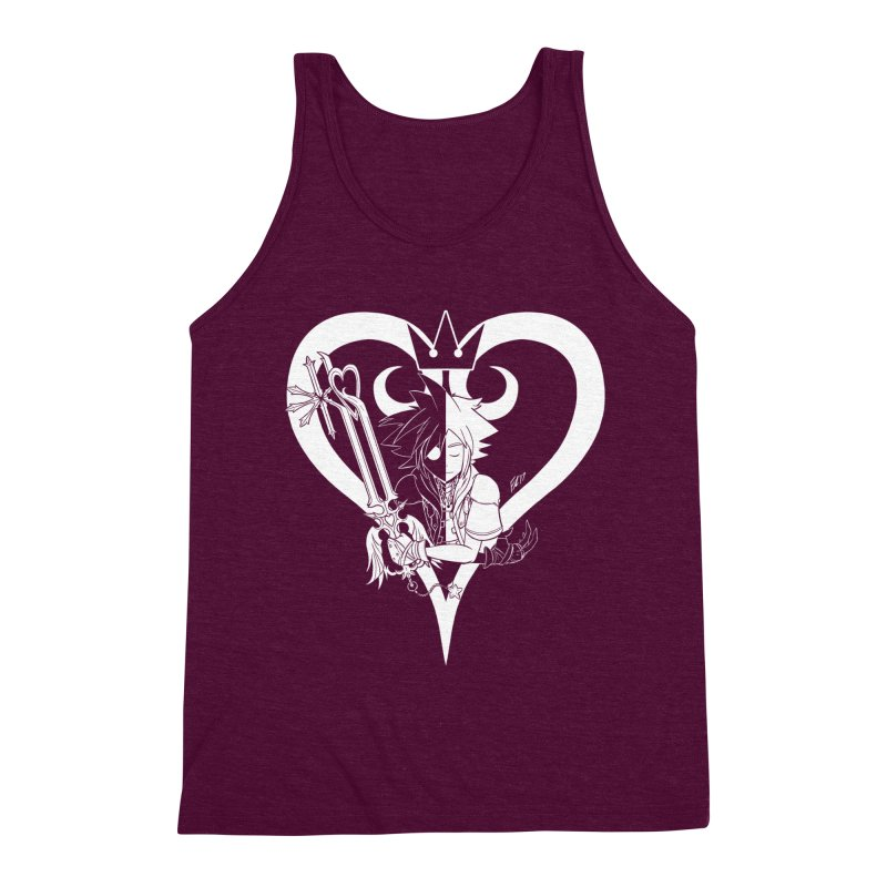 Heartless Men's Triblend Tank by Requiem's Thread Shop