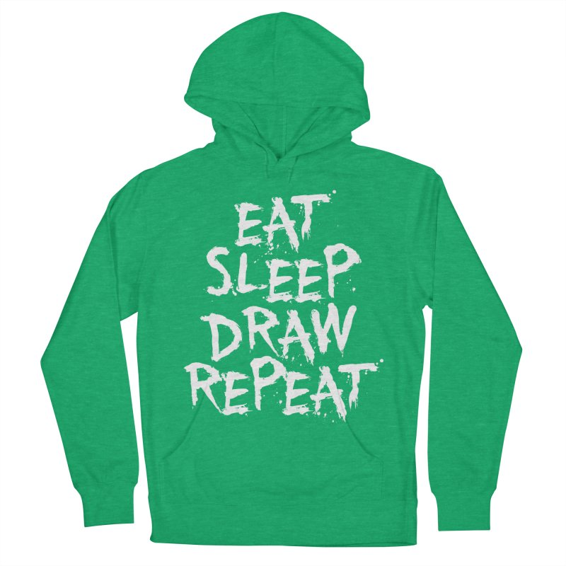 Life of an Artist Men's French Terry Pullover Hoody by Requiem's Thread Shop