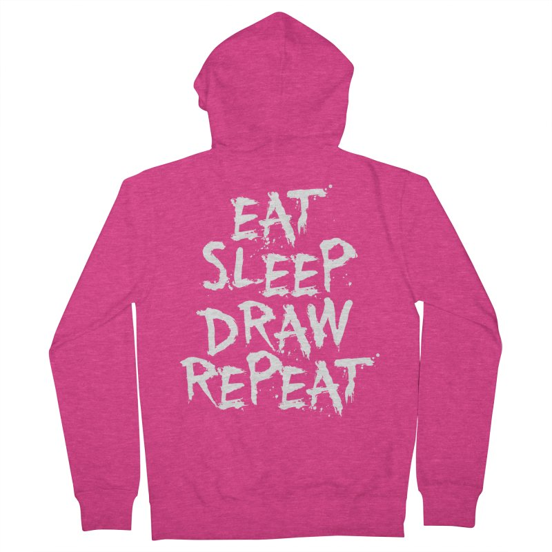 Life of an Artist Women's French Terry Zip-Up Hoody by Requiem's Thread Shop