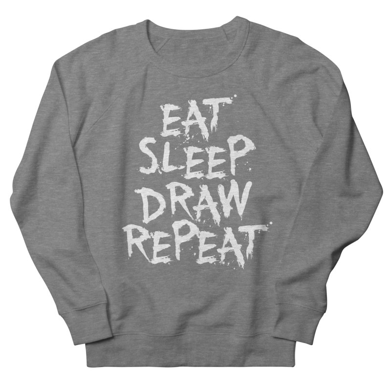 Life of an Artist Men's French Terry Sweatshirt by Requiem's Thread Shop