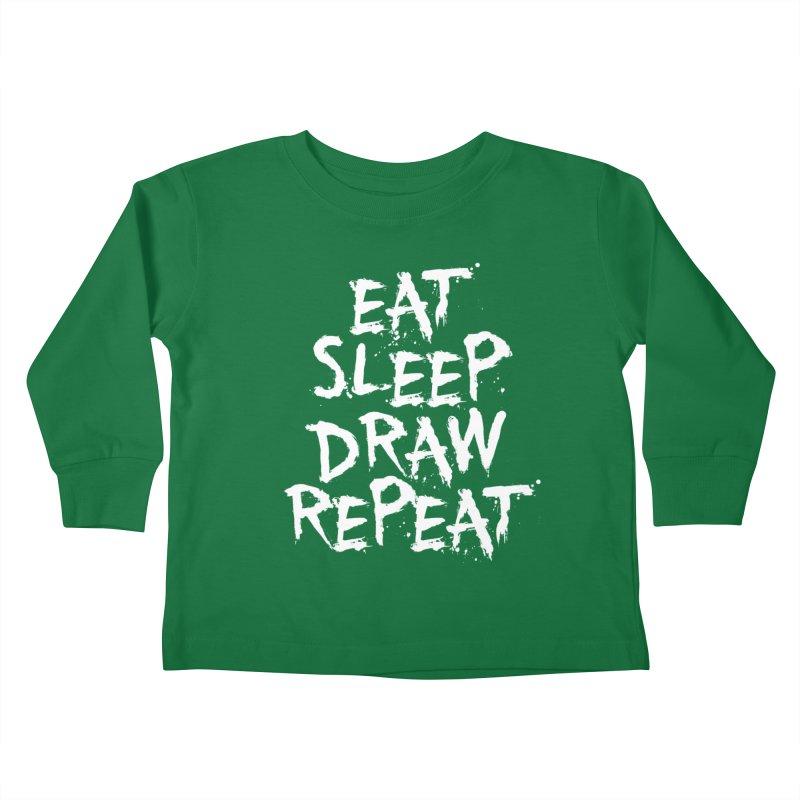 Life of an Artist Kids Toddler Longsleeve T-Shirt by Requiem's Thread Shop