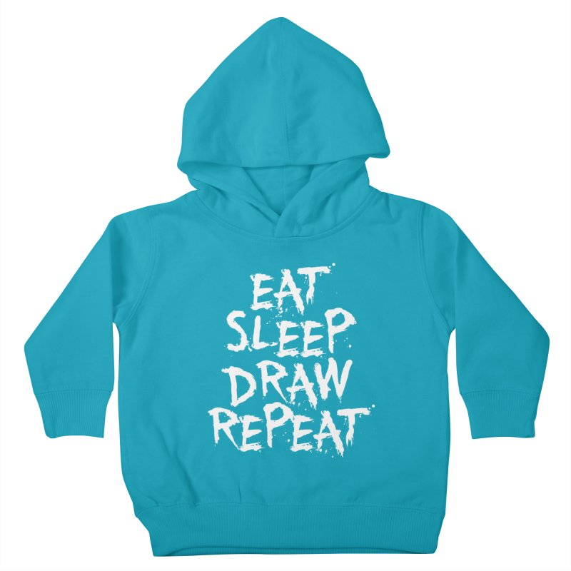 Life of an Artist Kids Toddler Pullover Hoody by Requiem's Thread Shop