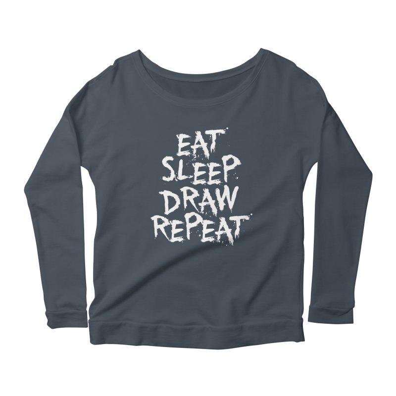 Life of an Artist Women's Scoop Neck Longsleeve T-Shirt by Requiem's Thread Shop