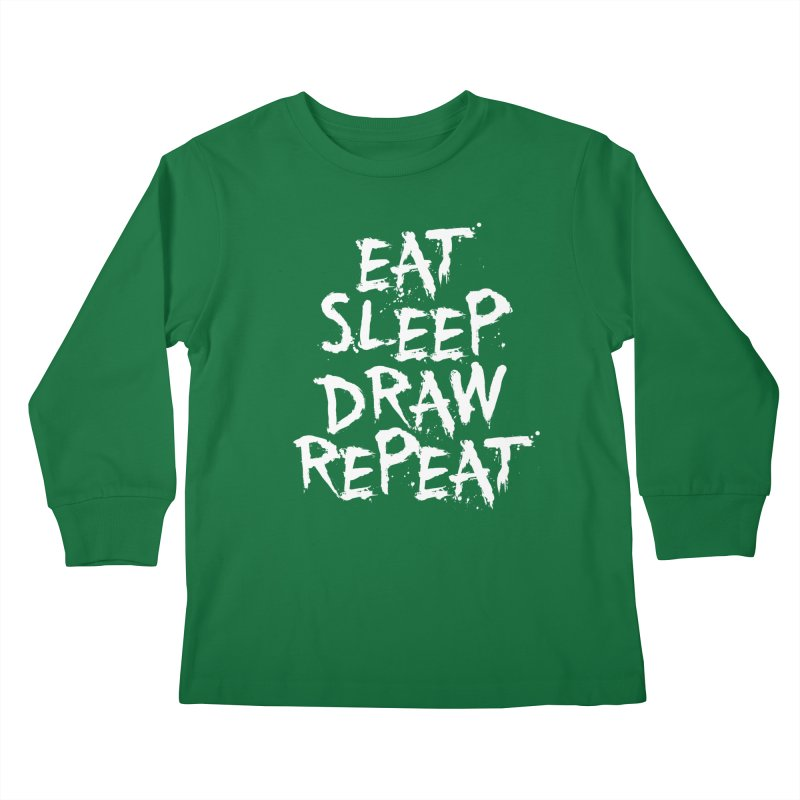 Life of an Artist Kids Longsleeve T-Shirt by Requiem's Thread Shop
