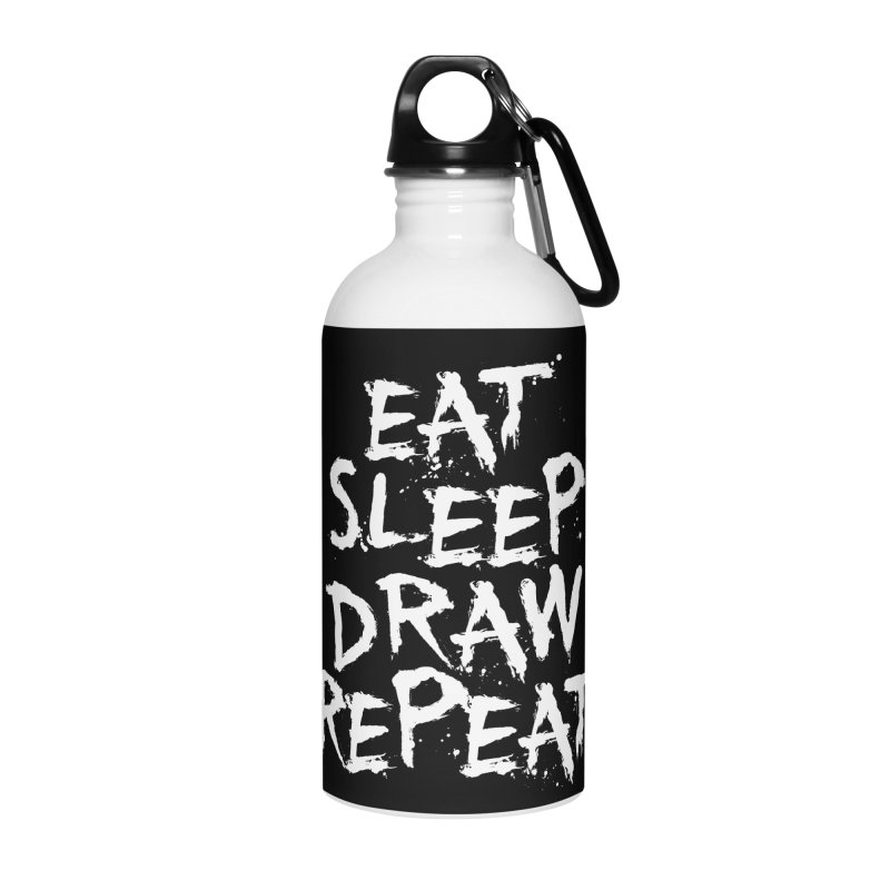 Life of an Artist Accessories Water Bottle by Requiem's Thread Shop