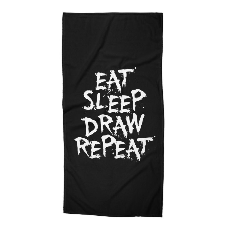 Life of an Artist Accessories Beach Towel by Requiem's Thread Shop