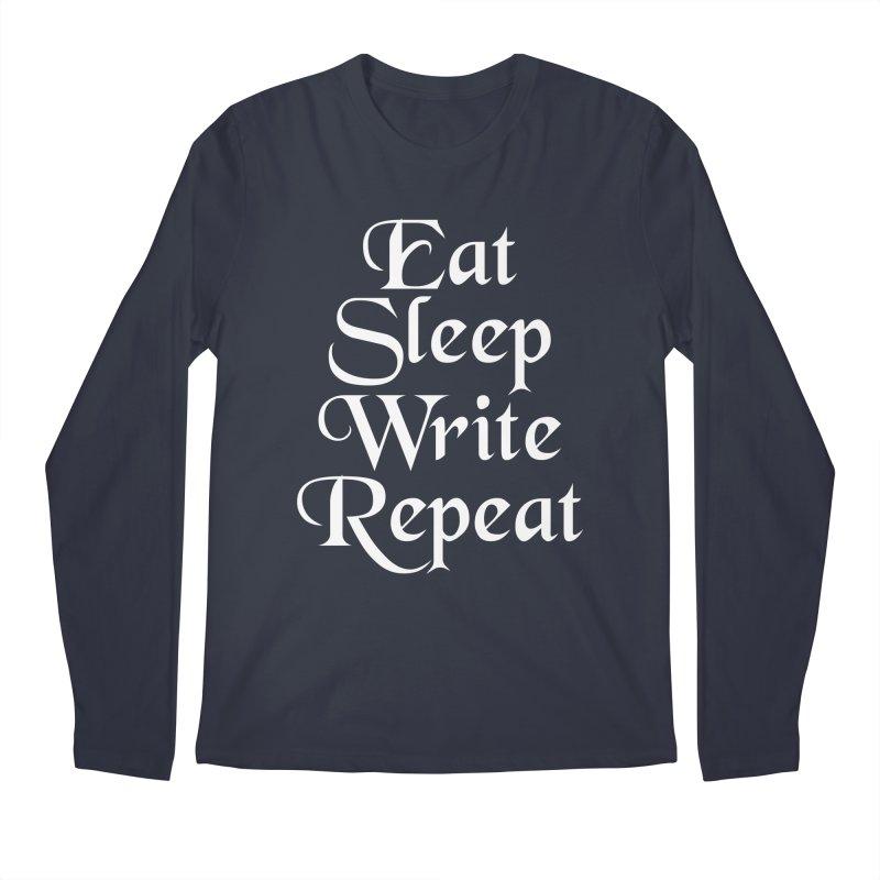 Daily Mantra Men's Regular Longsleeve T-Shirt by Requiem's Thread Shop