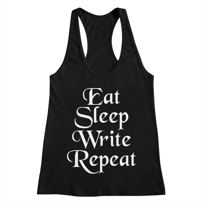 Daily Mantra Women's Racerback Tank by Requiem's Thread Shop
