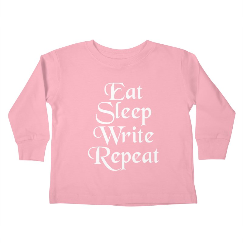 Daily Mantra Kids Toddler Longsleeve T-Shirt by Requiem's Thread Shop