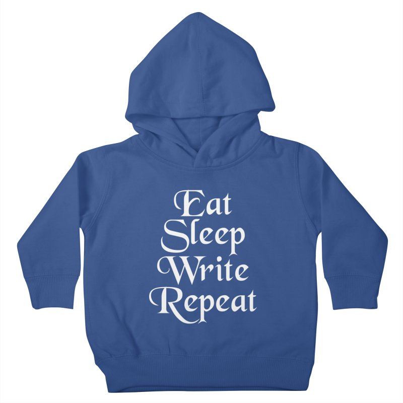 Daily Mantra Kids Toddler Pullover Hoody by Requiem's Thread Shop