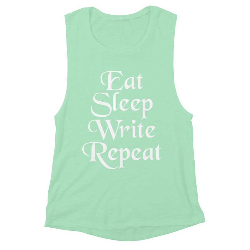 Daily Mantra Women's Muscle Tank by Requiem's Thread Shop