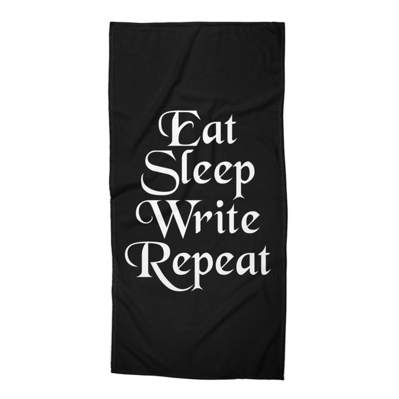 Daily Mantra Accessories Beach Towel by Requiem's Thread Shop