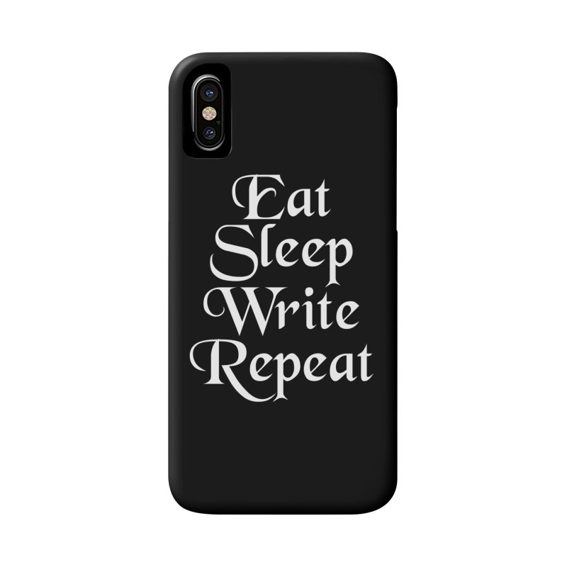 Daily Mantra Accessories Phone Case by Requiem's Thread Shop