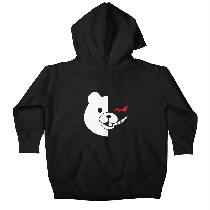 Ultimate Despair Headmaster Kids Baby Zip-Up Hoody by Requiem's Thread Shop