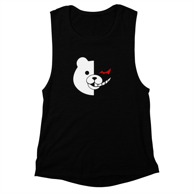 Ultimate Despair Headmaster Women's Muscle Tank by Requiem's Thread Shop