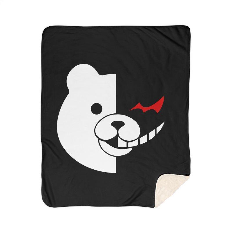 Ultimate Despair Headmaster Home Sherpa Blanket Blanket by Requiem's Thread Shop