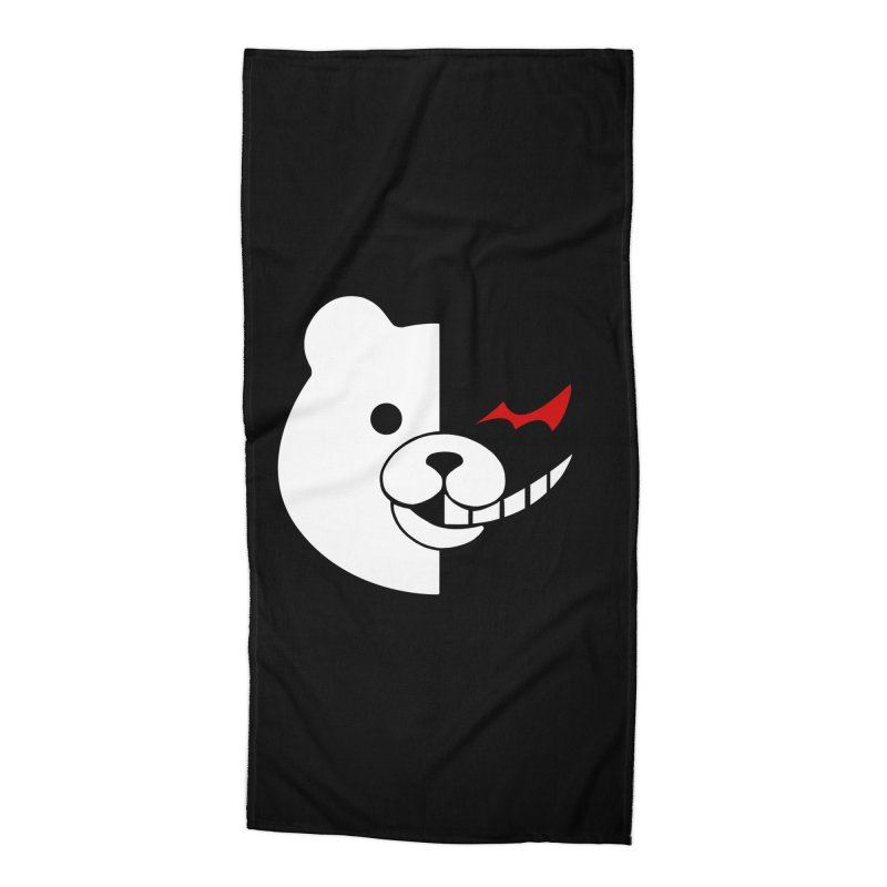 Ultimate Despair Headmaster Accessories Beach Towel by Requiem's Thread Shop