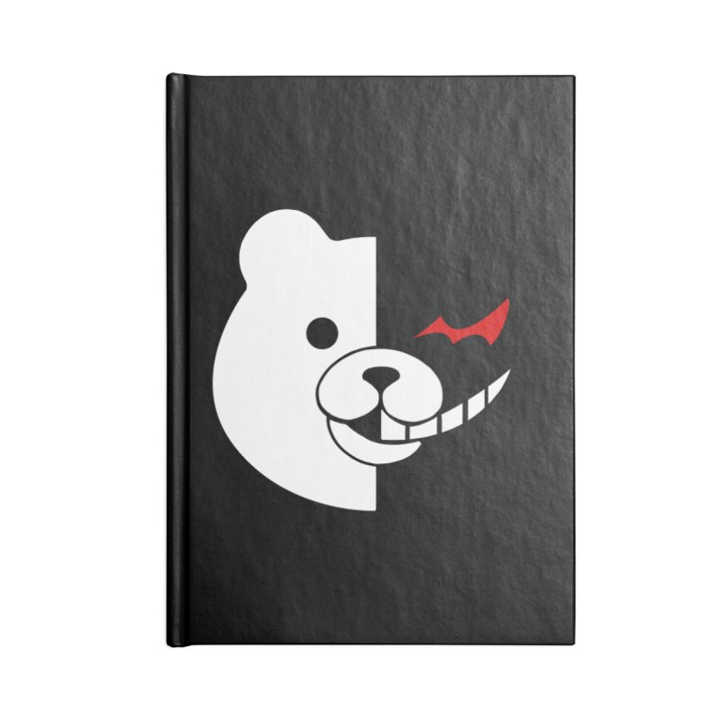 Ultimate Despair Headmaster Accessories Lined Journal Notebook by Requiem's Thread Shop
