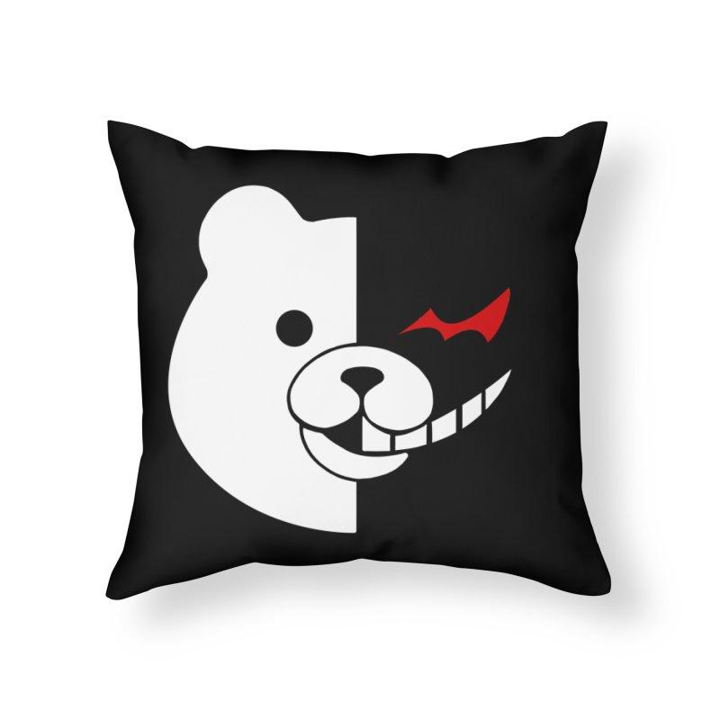 Ultimate Despair Headmaster Home Throw Pillow by Requiem's Thread Shop