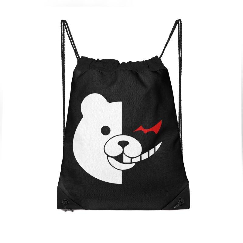 Ultimate Despair Headmaster Accessories Drawstring Bag Bag by Requiem's Thread Shop