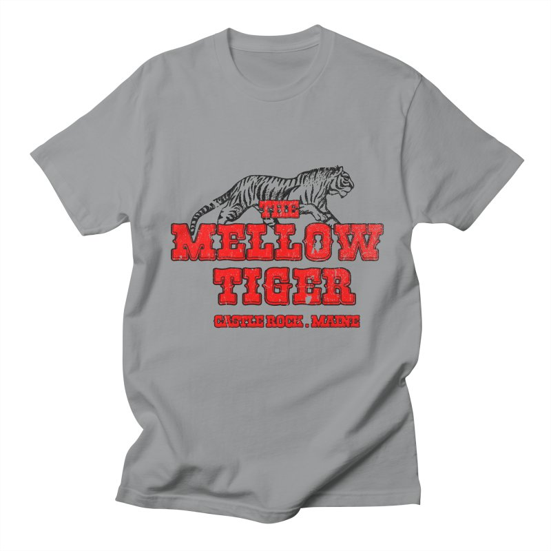 Mellow Tiger Men's Regular T-Shirt by Reservoir Geeks