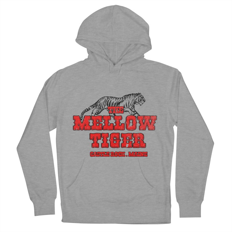 Mellow Tiger Men's French Terry Pullover Hoody by Reservoir Geeks