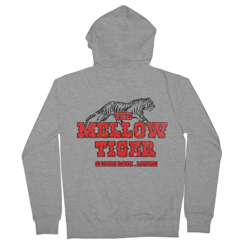 Mellow Tiger Men's French Terry Zip-Up Hoody by Reservoir Geeks