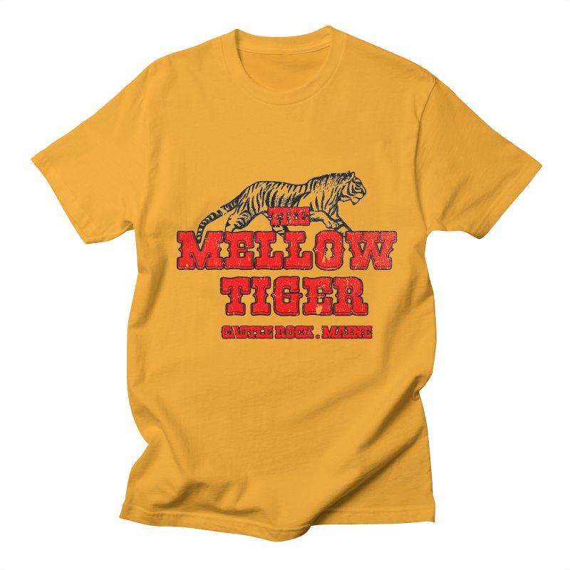 Mellow Tiger Men's Regular T-Shirt by Reservoir Geeks