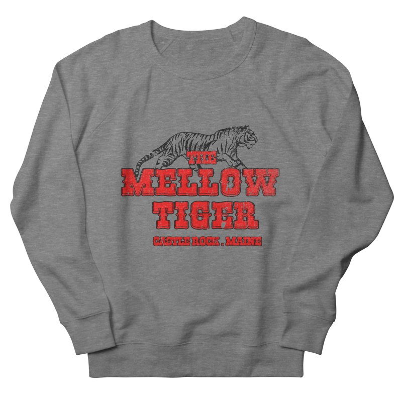 Mellow Tiger Men's French Terry Sweatshirt by Reservoir Geeks