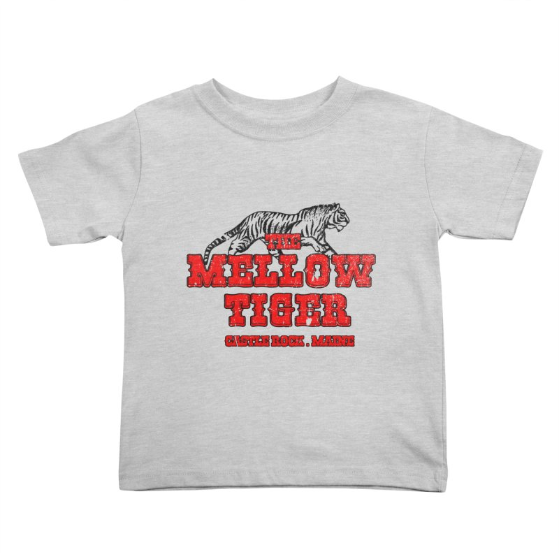 Mellow Tiger Kids Toddler T-Shirt by Reservoir Geeks