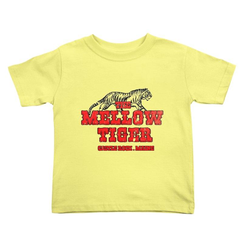 Mellow Tiger Kids Toddler T-Shirt by Reservoir Geeks