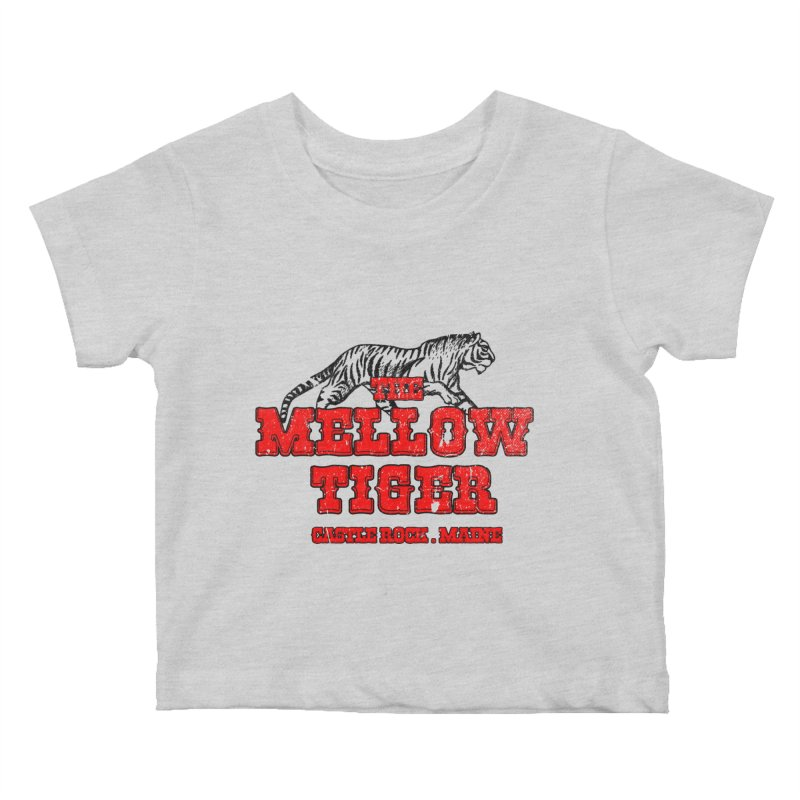 Mellow Tiger Kids Baby T-Shirt by Reservoir Geeks