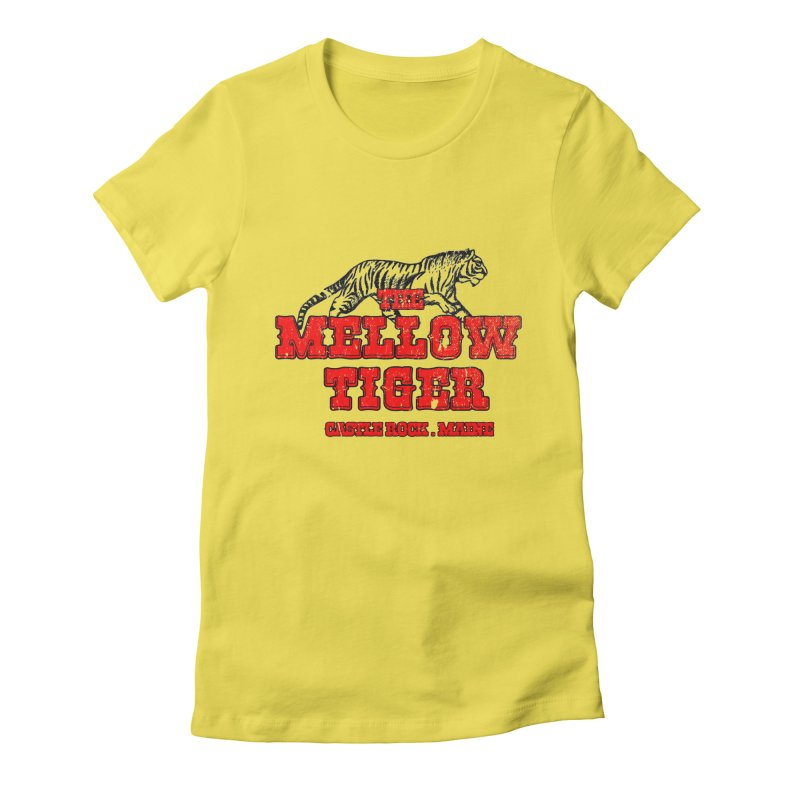 Mellow Tiger Women's Fitted T-Shirt by Reservoir Geeks