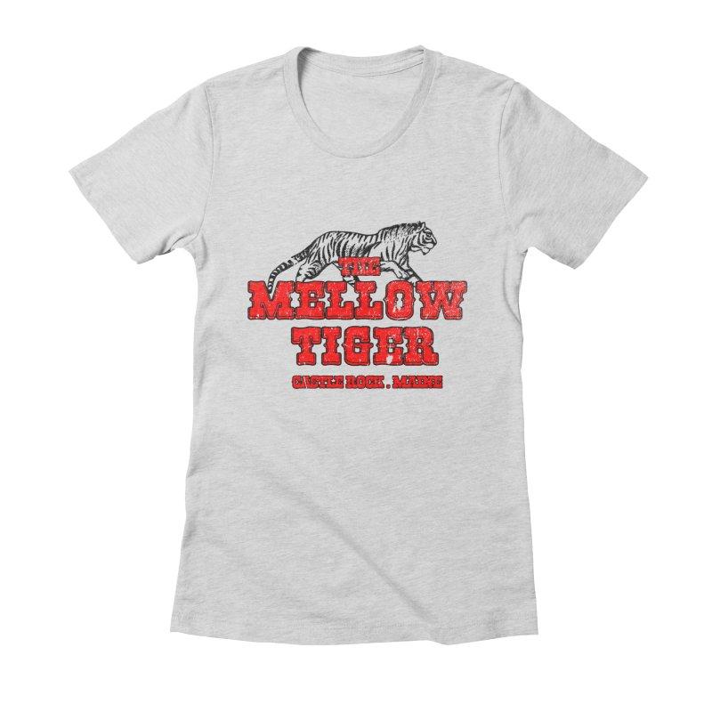 Mellow Tiger Women's Fitted T-Shirt by Reservoir Geeks