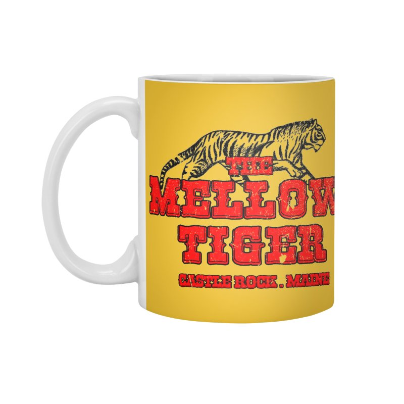 Mellow Tiger Accessories Standard Mug by Reservoir Geeks