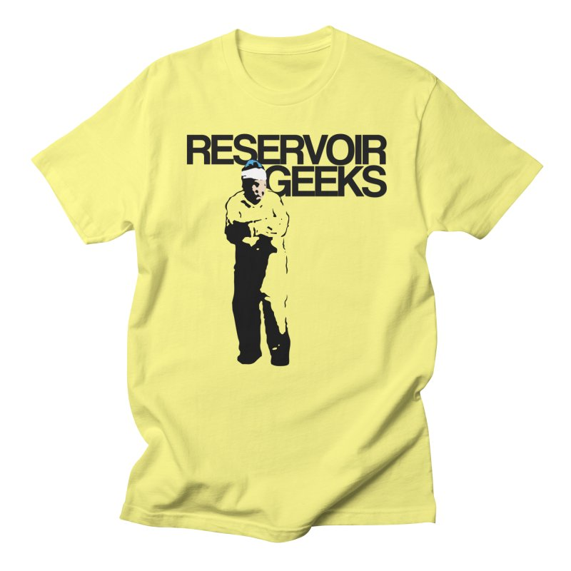 Reservoir Geeks FIRST Official Shirt in Men's Regular T-Shirt Lemon by Reservoir Geeks