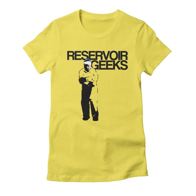 Reservoir Geeks FIRST Official Shirt Women's Fitted T-Shirt by Reservoir Geeks