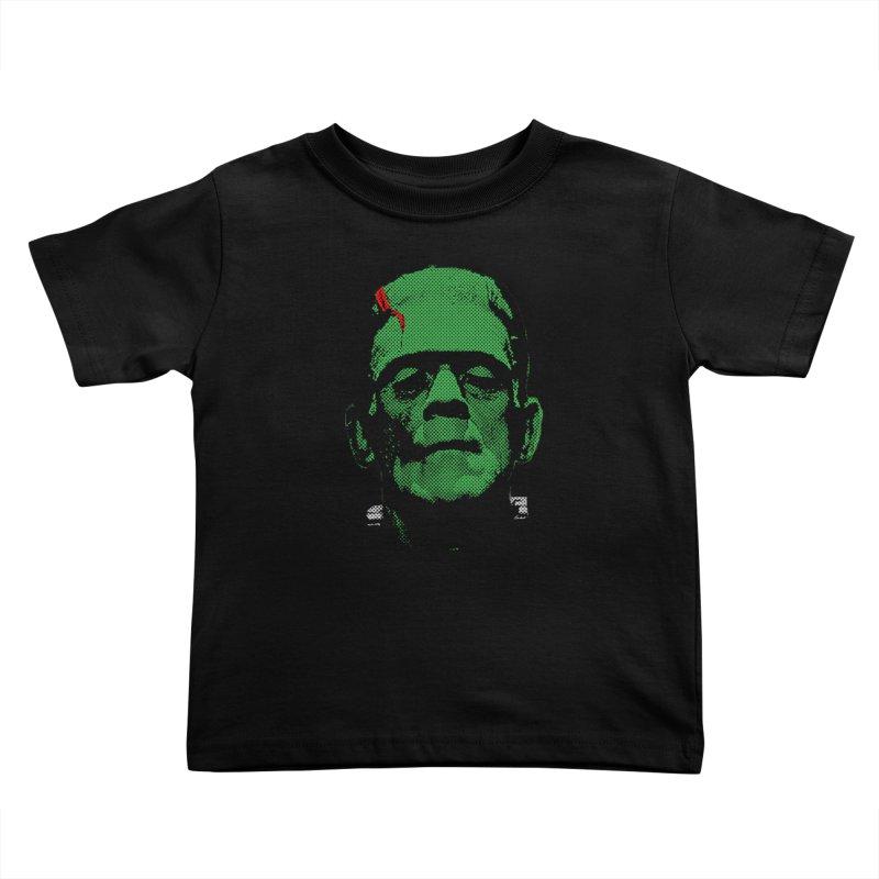Frank Kids Toddler T-Shirt by Reservoir Geeks