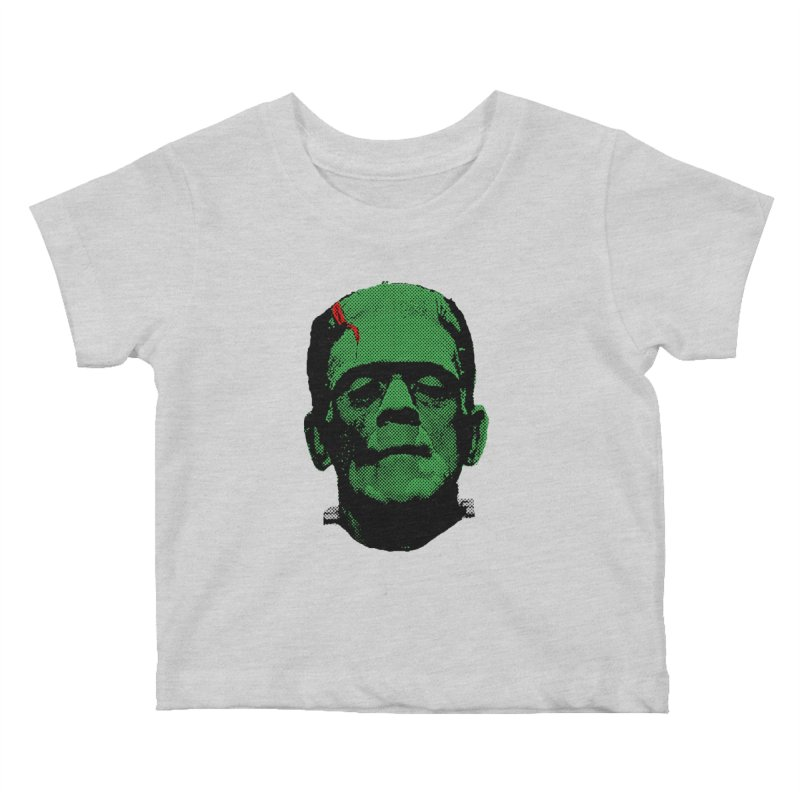Frank Kids Baby T-Shirt by Reservoir Geeks