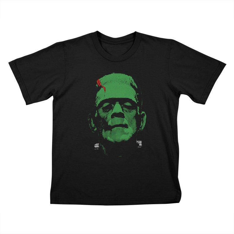 Frank Kids T-Shirt by Reservoir Geeks