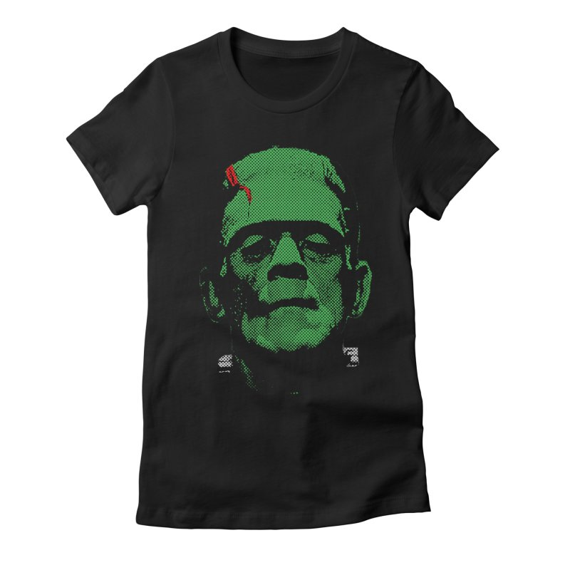 Frank Women's Fitted T-Shirt by Reservoir Geeks