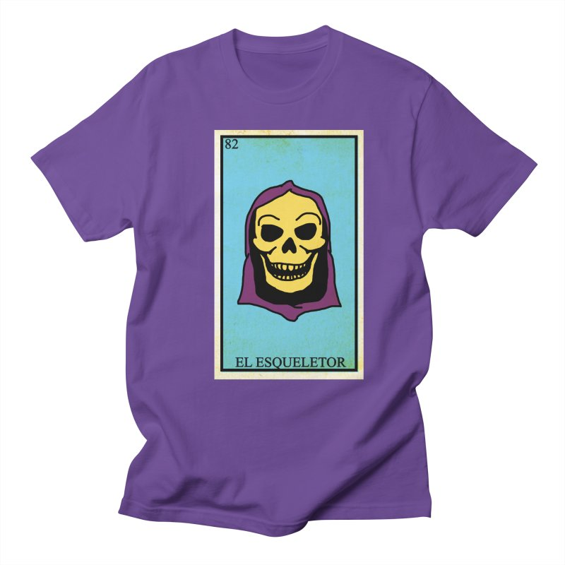 El Esqueletor Men's Regular T-Shirt by Reservoir Geeks