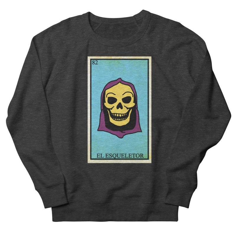 El Esqueletor Men's French Terry Sweatshirt by Reservoir Geeks