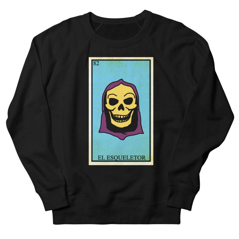 El Esqueletor Men's French Terry Sweatshirt by Reservoir Geeks