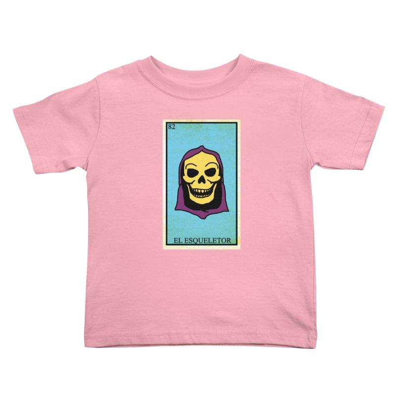 El Esqueletor Kids Toddler T-Shirt by Reservoir Geeks