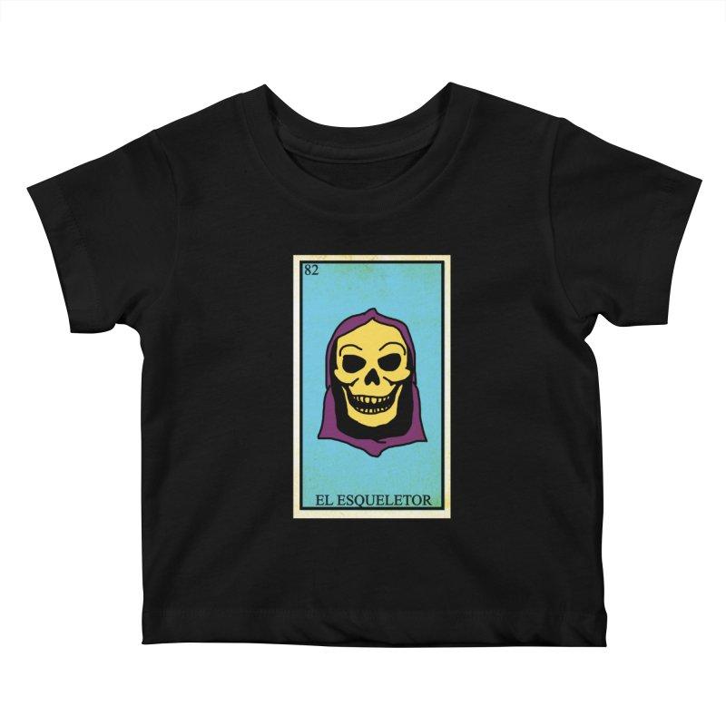 El Esqueletor Kids Baby T-Shirt by Reservoir Geeks