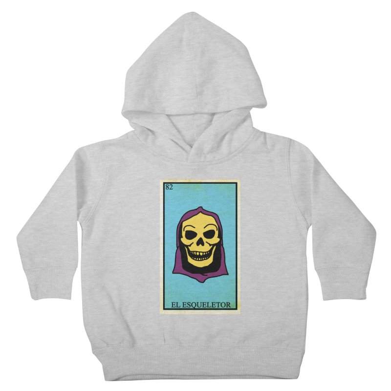 El Esqueletor Kids Toddler Pullover Hoody by Reservoir Geeks