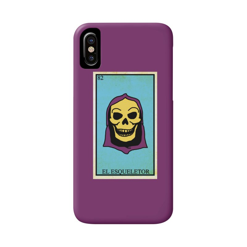 El Esqueletor in iPhone X / XS Phone Case Slim by Reservoir Geeks