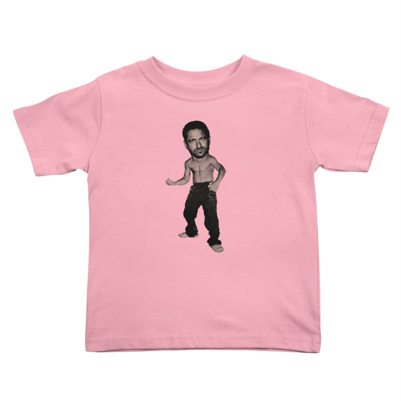 Baby Butler in Kids Toddler T-Shirt Light Pink by Reservoir Geeks