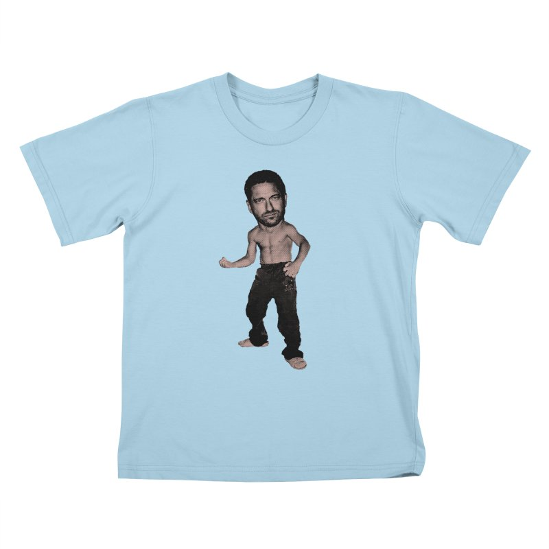 Baby Butler Kids T-Shirt by Reservoir Geeks